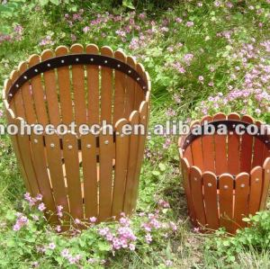 100% recycled wpc high quality flower box (wpc flooring/wpc wall panel/wpc leisure products)