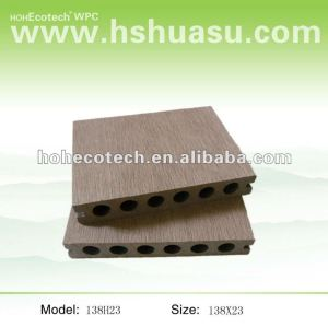 Terrace plastic-wood composite WPC Decking Board