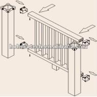 容易な設置高品質のwpcのポスト(セリウムROHS)