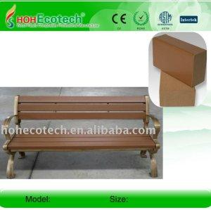 Impermeável ao ar livre de madeira/banco de bambu composto plástico de madeira bancada/cadeiras