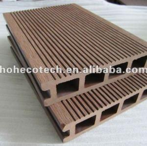 Legno decking composito di plastica/wpc decking/composito legno/pavimento esterno/piano giardino