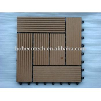 100% Recycled outdoor WPC DIY deck tile