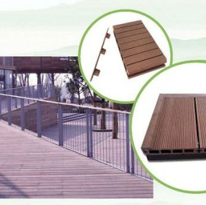 Plancher en bois de composé de poudre de HDPE