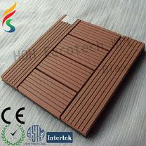 plastic wood outdoor decorative deck tile/weather board