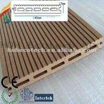 Exterior wpc chão decking composto folha