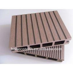 高品質のwpcのデッキのタイルの木製のプラスチック合成のdeckingのタイルのdeckingかフロアーリングのwpcの合成の木製の材木