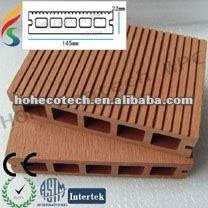 Decking recyclable de composé de decking de 100% WPC