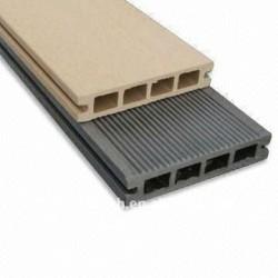 wpc (木製のプラスチック合成物)のDeckingかフロアーリングのビニールのデッキ