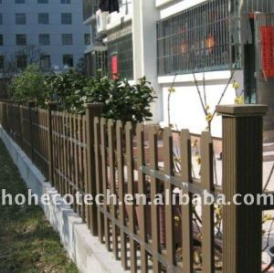 wood plastic composite wpc fencing/railing around Residential composite railing
