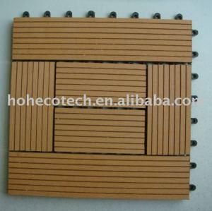 al aire libre de bricolaje de madera de plástico compuesto de la cubierta de cerámica