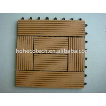 DIY Outdoor Wood Plastic Composite Deck Tiles