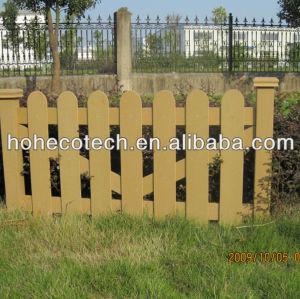 Wpc clôture/barrière en bois