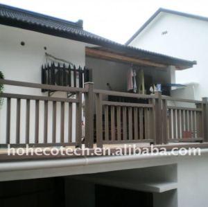 clôture composée en plastique du bois de wpc/balustrade autour de la balustrade composée résidentielle