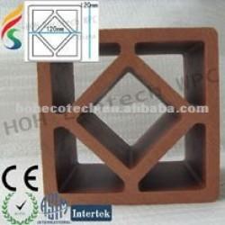 木製のプラスチック合成の囲うポスト