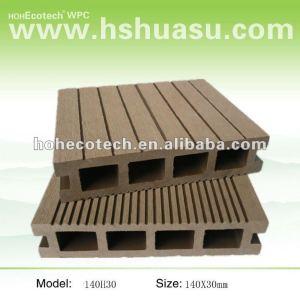 Wood Plastic Composite decking for terrace floor 140H30