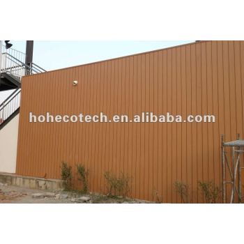Exterior wpc wood plastic composite wall siding