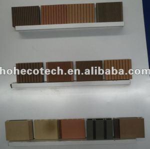 Profil cannelé exempt d'entretien favorable à l'environnement de decking