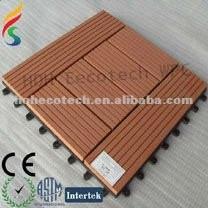 Telha ao ar livre de wpc telha/ decking composto/ madeira plástica telha de diy