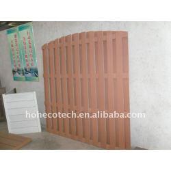 木製のプラスチック合成の庭の囲うか、またはwpcの柵木塀を囲う屋外の塀のwpcを防水しなさい