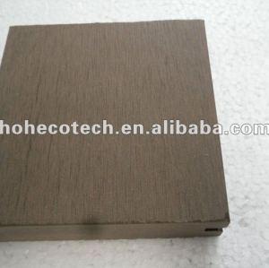 Decking en bois en plastique respectueux de l'environnement WPC de decking/extérieur de CE/SGS