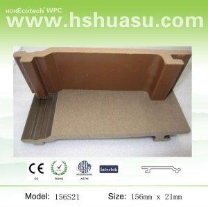 legno composito di plastica di rivestimento della parete di porcellana