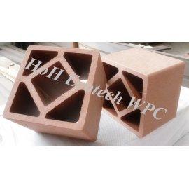 Popular WPC Post (cedar color)
