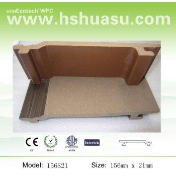 wood plastic composite wall panel