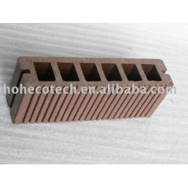 wood plastic composite flooring/decking-easy install