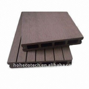 Anhui Ecotech wpc wood plastic composite hollow outdoor decking ASTM Rohs CE FSC approved