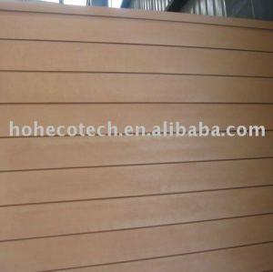 alta qualidade woodlike material wpc painel de parede