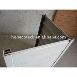 パネル白い合成の壁のための少しサンプル(156x21mm)