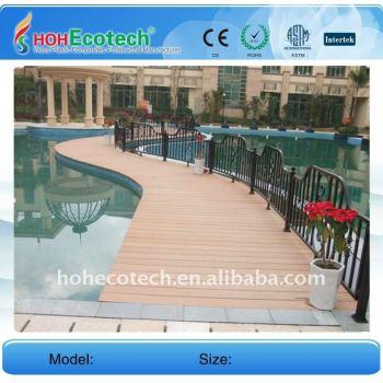 Swimming pool deck WPC