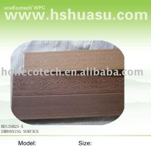 Le bois de WPC aiment la surface