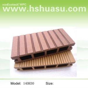legno decking composito di plastica