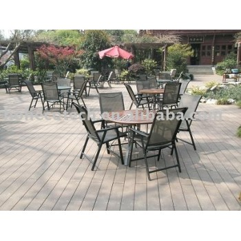 Wood Plastic Composites(WPC) Outside Decking/Flooring(CE,RoHS approved)