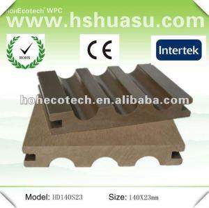 panneau de plancher respectueux de l'environnement de wpc de matière composite (ISO9001)