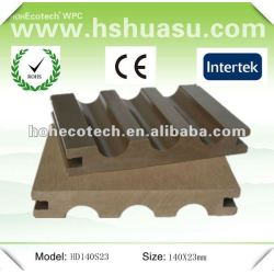 複合材料の環境に優しいwpcの床板(ISO9001)