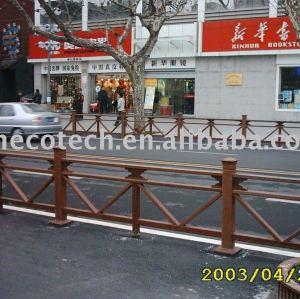 wood plastic composite railing/fencing