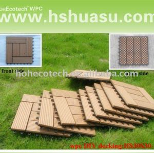 WPC outdoor flooring tiles