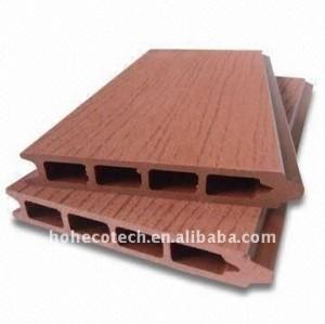 lixar a superfície de plástico de madeira decking composto decking de wpc decking composto