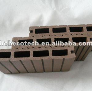 Hoh ecotech de descuento nuevo modelo 140x25 eco - ambiente de plástico de madera decking compuesto/azulejo de piso