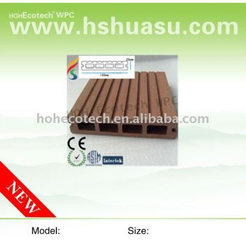 HOT!!! WPC composite ecotech Decking, CE. ASTM,ROHS,ISO9001,ISO14001