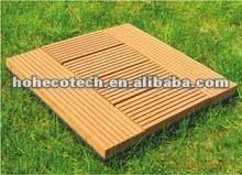 tuile de la plate-forme tile/DIY de wpc/tuile composée en plastique en bois de decking