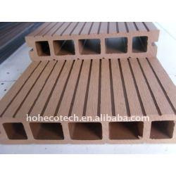 質の保証! wpcのdeckingの床の木製のプラスチック合成のDeckingの積層物のフロアーリング
