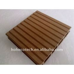 合成のdecking板WPC deckingは木製のプラスチック合成のフロアーリングの合成物のdeckingをタイルを張る