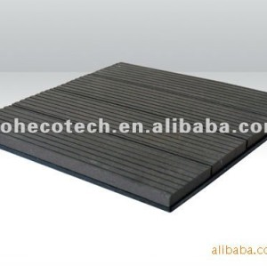 Durável venda quente de madeira composto plástico diy telha bordo ( prova de água, resistência uv, resistência à podridão e crack )