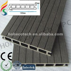low price wood plastic outdoor flooring/composite decking