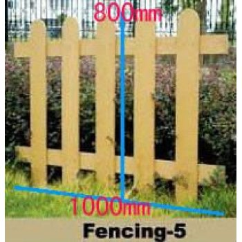 WPC fencing --design