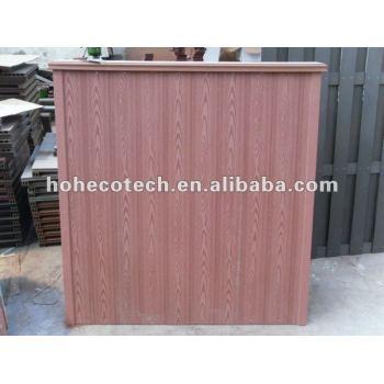 Plastic wood interlocking composite deck