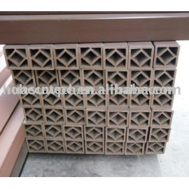 wood plastic composite fencing post